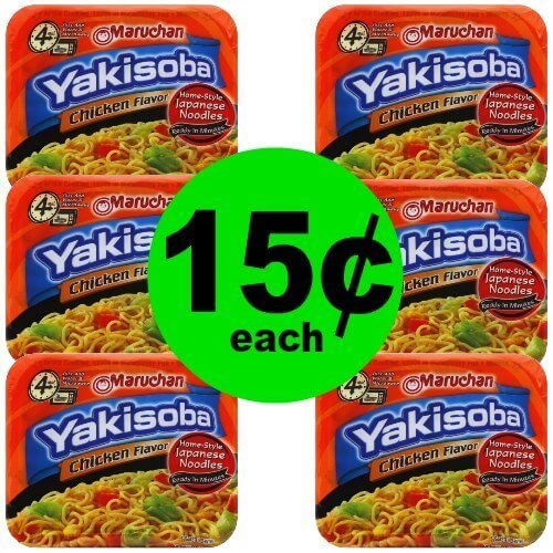 Enjoy Yakisoba Japanese Noodles for 15¢ Each at Publix! (1/11-1/17 or 1/10-1/16)