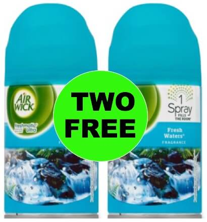TWO (2!) FREE Air Wick Freshmatic Refills at Winn Dixie! (Ends 1/23)
