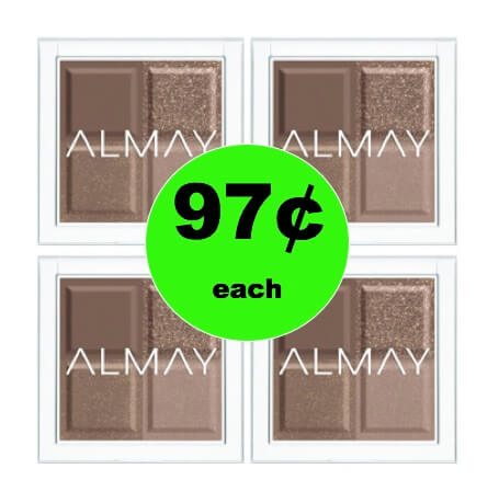 Update Your Look with 97¢ Almay Eye Shadow at Walmart! (Ends 2/4)