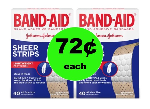 Heal Those Boo-Boos with 72¢ Band-Aid Bandages at Walmart!