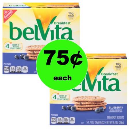 Get Belvita Bites Mini Breakfast Biscuits As Low As 75¢ Each at Target! (Ends 1/27)