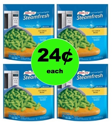 Stock the Freezer with 24¢ Birds Eye Frozen Vegetables at Target! (Ends 1/27)