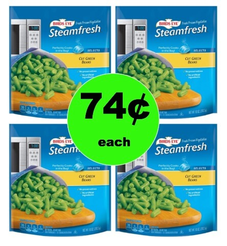 Stock the Freezer with 74¢ Birds Eye Frozen Vegetables at Target! (Ends 1/27)