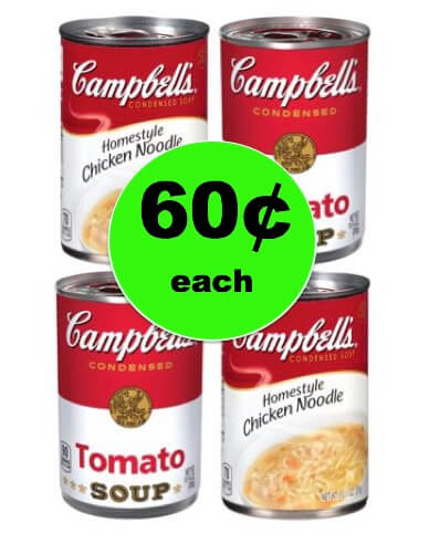 Warm Up with Campbell's Chicken Noodle or Tomato Soup ONLY 60¢ Each at Winn Dixie! (1/10-1/16)