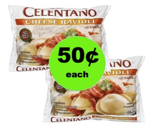 Need a Quick Dinner? Pick Up Celentano Cheese Ravioli Only 50¢ Each at Winn Dixie! (1/10-1/16)