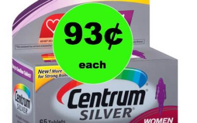 Improve Your Health with 93¢ Centrum Vitamins at Walgreens! (Ends 1/27)
