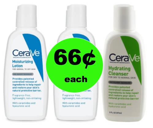 Soothe Dry Skin with 66¢ Cerave Skin Care Products at Target! (Ends 1/13)