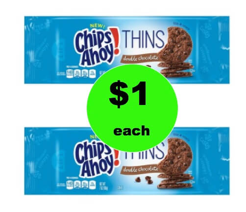 Tame the Cookie Monster with $1 Chips Ahoy! Thins Cookies at Target! (Ends 2/3)