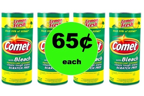 Clean It Up with 65¢ Comet Cleanser at Target! (Ends 1/20)