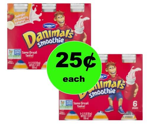 Make the Kids Happy with Danimals Yogurt Smoothie 6ct Only 25¢ Each at Winn Dixie! (1/17-1/23)