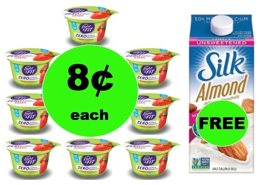 Score FREE Silk Milk wyb TEN (10!) Dannon Light & Fit Yogurt Only 8¢ Each at Winn Dixie ! (1/17-1/19)