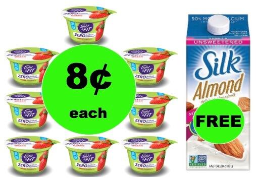 Score FREE Silk Milk wyb TEN (10!) Dannon Light & Fit Yogurt Only 8¢ Each at Winn Dixie ! (1/17-1/19)