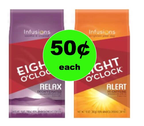 Kick Your Morning Up a Notch with Eight 'O Clock Coffee Infusions Only 50¢ Each at Winn Dixie! (Ends 1/9)