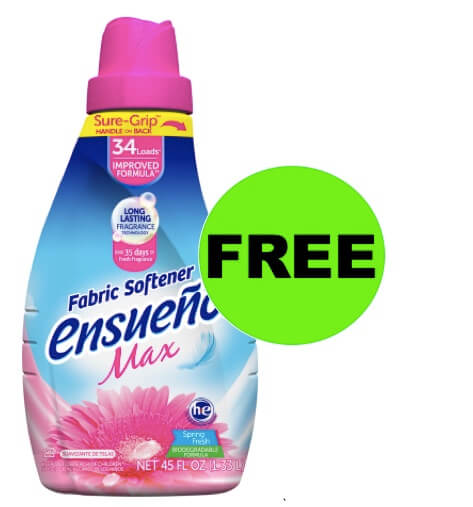 Get FREE Ensueño Fabric Softener at Walmart! (Ends 2/5)
