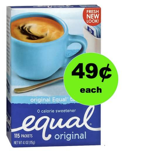 Life is Sweet with 49¢ Equal Sweetener at Walgreens! (Ends 1/27)