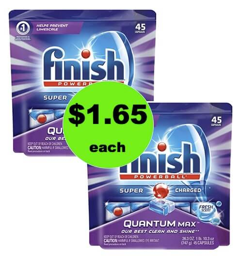 Sparkling Clean Dishes for Cheap with $1.65 Finish Tabs at Winn Dixie! (Ends 1/16)