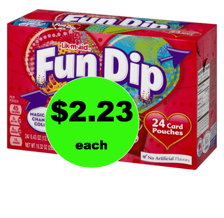 Perfect for School! Pick Up This $2.23 Fun Dip Valentine Kit (Just 9¢ Per Valentine!) at Walmart! (Ends 2/15)