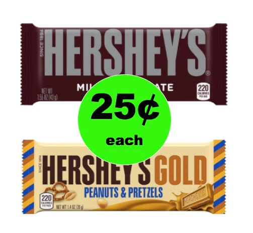 PRINT Now for 25¢ Hershey's Gold Bars (At CVS & Walmart Too!)! (Ends 1/6)
