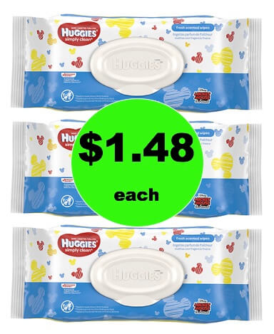 Stay Stocked Up with $1.48 Huggies Wipes at Walgreens! (1/28 – 2/3)