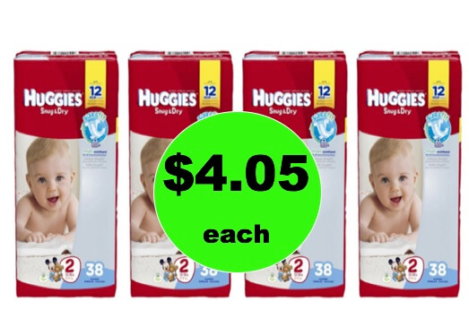 Stock Up with $4.05 Huggies Diaper Jumbo Packs at Walgreens! (Ends 1/20)
