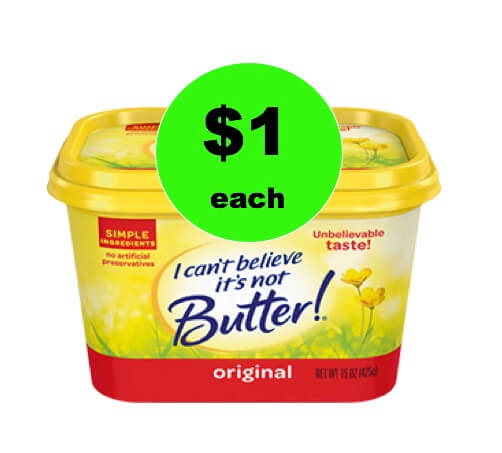 Pick Up I Can't Believe It's Not Butter Only $1 at Winn Dixie! (Ends 1/16)