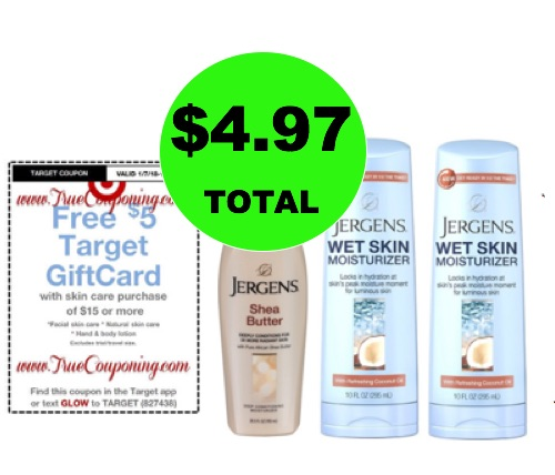 For ONLY $4.97, Get (3) Jergens Lotions (Save $11) at Target! (Ends 1/13)