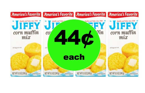 Enjoy Jiffy Corn Muffin Mix Only 44¢ Each at Winn Dixie! (Ends 1/2)