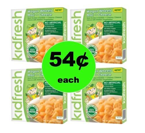 Make 'Em Happy with 54¢ Kidfresh Frozen Meals at Target! (Ends 2/17)