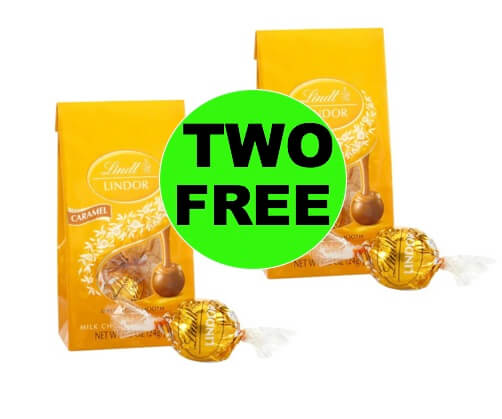 TWO (2!) FREE Lindt Lindor Mini Bags at Walgreens! PRINT Now!