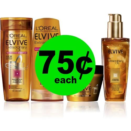 L'Oreal Elvive Hair Care, 75¢ at CVS! (4/15-4/21)