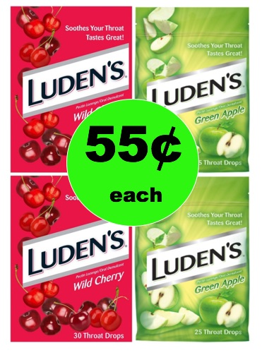 Scratchy Throat? Pick Up 55¢ Luden's Cough Drops at Target! (Ends 1/13)