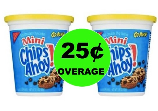 Snack Anytime, Anywhere with TWO (2) FREE + 25¢ OVERAGE On Nabisco Go-Paks at Target! (Ends 1/27)