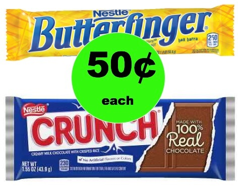 CHEAP CHOCOLATE ALERT! Get 50¢ Nestle Candy Bars at Walgreens (No Coupon Needed)! (Ends 2/3)