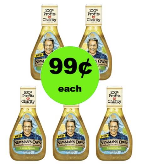 Dress Up Your Salad with 99¢ Newman's Own Salad Dressing at Target! (Ends 2/13)
