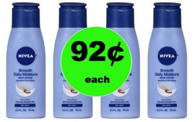 Stock Up on  Nivea Lotion Only 92¢ at Walmart! (Ends 1/27)