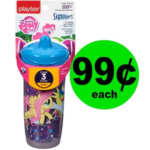 Head to Publix to Get 99¢ Playtex Sipsters Cup! PRINT Now! (Ends 1/24)
