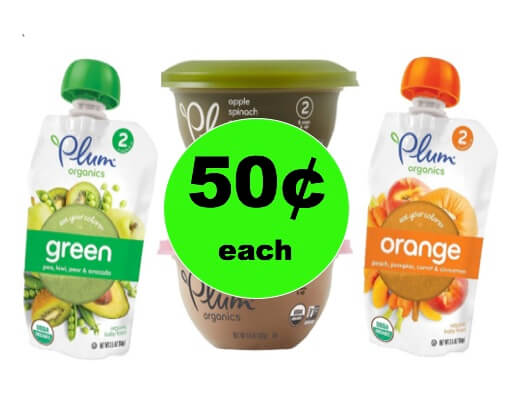 Good for Baby and Easy Too! Get Plum Organics Baby Food Only 50¢ Each at Winn Dixie! (Ends 1/9)