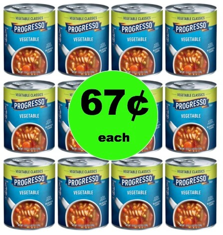 Dinner Done Cheap with 67¢ Progresso Vegetable Classics Soups at Target! (Ends 2/3)