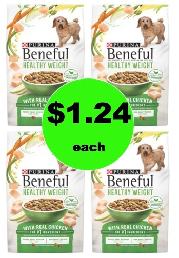 Tails are Waggin' for $1.24 Purina Beneful Dry Dog Food at Target (Reg. $5.79)! (Ends 1/27)