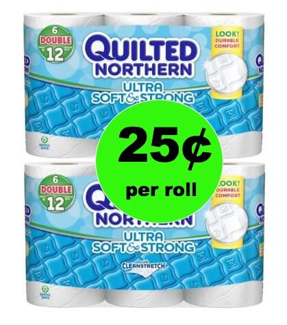 Snag Quilted Northern Bath Tissue Only 25¢ per Roll at Winn Dixie! (1/31-2/6)