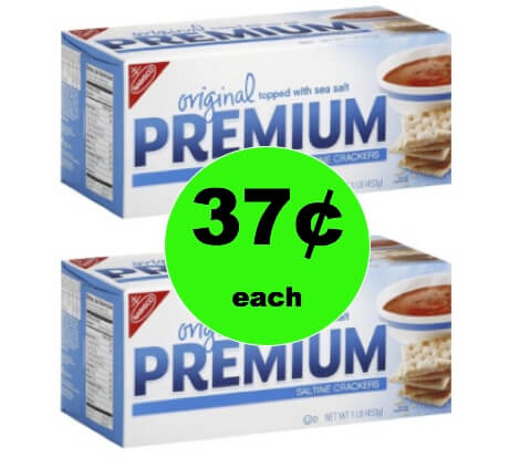 Enjoy a Snack with Nabisco Saltine Crackers Only 37¢ per Box at Winn Dixie! (Ends 1/30)