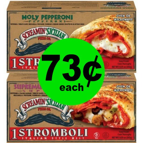 Mama Mia! Enjoy Screamin' Sicilian Stromboli for 73¢ Each at Publix! (Ends 1/30 or 1/31)