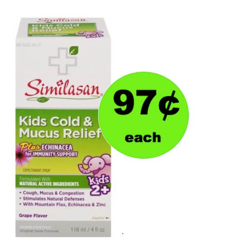 Save the Day with 97¢ Similasan Kids Cold & Mucus Relief (Save $5) at Walmart! (Ends 2/17)