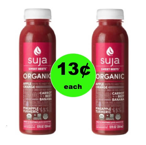 Start the Year Off Healthy with $0.13 Suja Organic Juice at Target! (Ends 1/6)