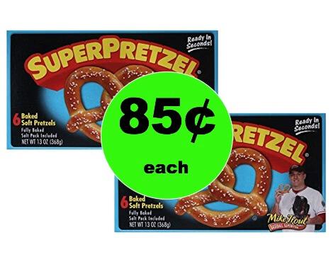 Favorite Snack Item! Pick Up SuperPretzel Soft Pretzels Only 85¢ at Winn Dixie! (Ends 1/30)