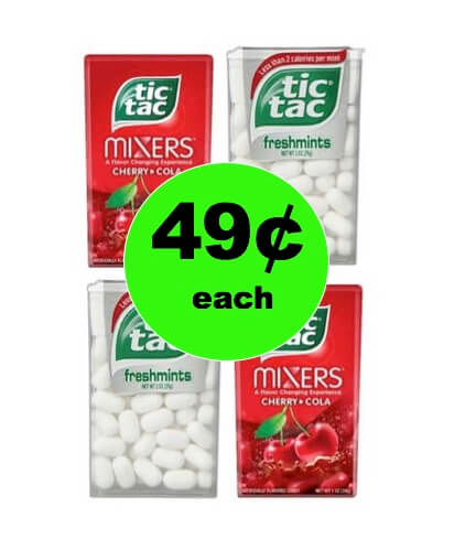Get Fresh Breath Anytime with 49¢ Tic Tac Mints at Walgreens! (Ends 1/6)