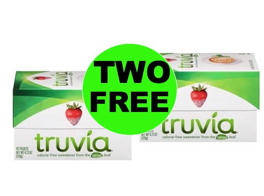 It's a Sweet Deal! Get TWO (2!) FREE Truvia Natural Sweetener at Winn Dixie! (Ends 1/9)