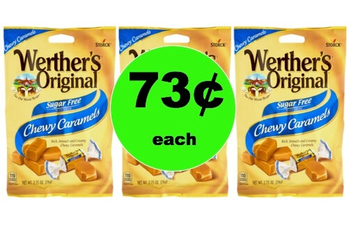 Pick Up 73¢ Werther's Original Sugar FREE Candy at Walmart (and Publix too)! (Ends 2/11)