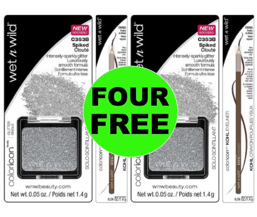 FOUR (4!) FREE Wet N Wild Eye Cosmetics at Target! (Ends 1/27)