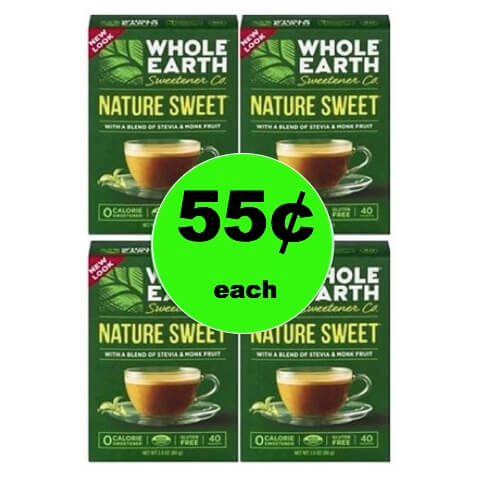 Sweeten Up with $.55 Whole Earth Sweetener at Target (Reg $3+)! (Ends 1/20)